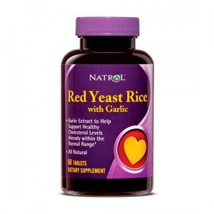 Natrol Red Yeast Rice with Garlic