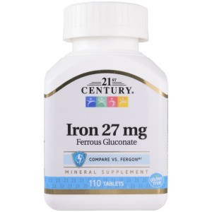 21st Century Iron 27 mg