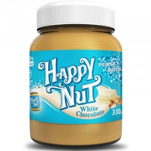 Happy Nut White Chocolate Арахисовая паста с белым шоколадом