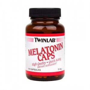 Twinlab Melatonin Caps