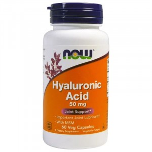 NOW Hyaluronic Acid 50 mg with MSM