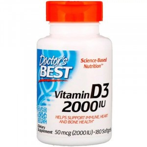 Doctor's Best Vitamin D3 2000 IU