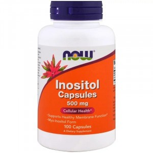 NOW Inositol 500 mg