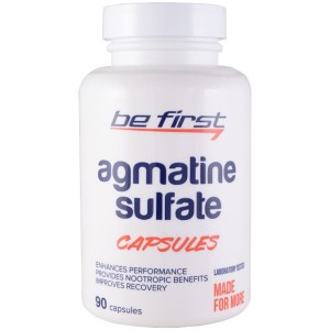Be First Agmatine Sulfate Capsules