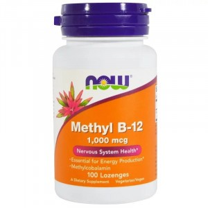 NOW Methyl B-12 1000 mcg