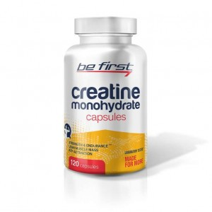 Be First Creatine Monohydrate Capsules