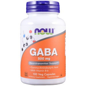 NOW GABA 500 mg + B-6