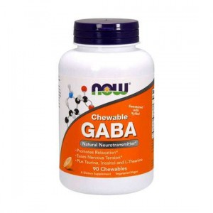 NOW Chewable GABA