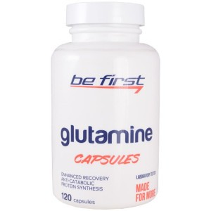 Be First Glutamine Capsules
