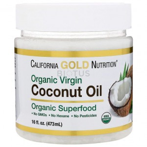 California Gold Nutrition Coconut Oil