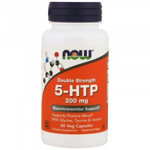 NOW 5-HTP 200 mg Double Strength