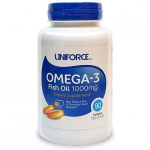 Uniforce Omega-3 Fish Oil 1000mg