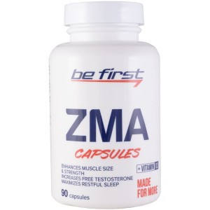 Be First ZMA + Vitamin D3