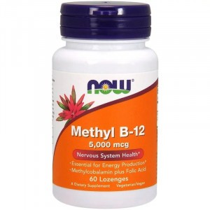 NOW Methyl B-12 5000 mcg